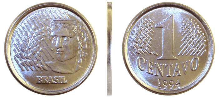 Moeda do Real: 1 Centavo de 1994