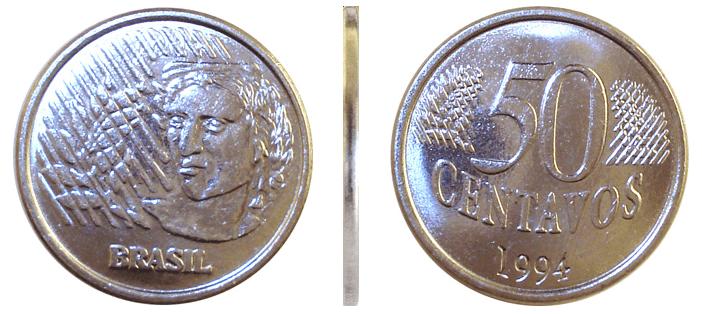 Moeda do Real: 50 centavos de 1994