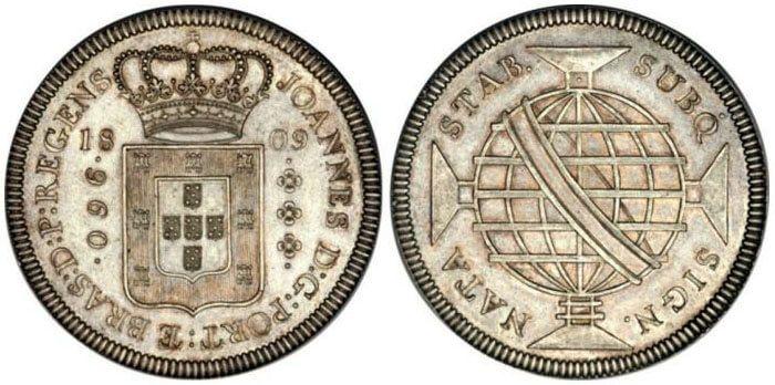 Ensaio de 960 réis de 1809