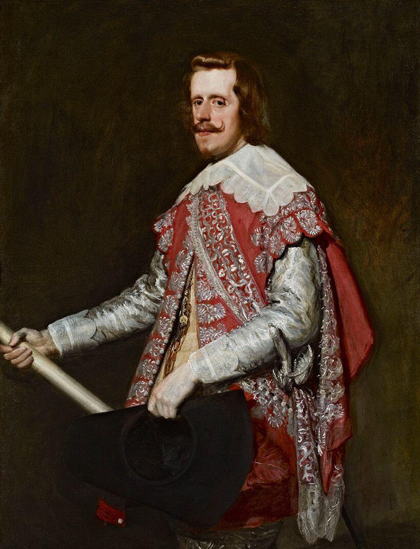 VELÁZQUEZ, Diego Rodríguez de Silva. Rei Felipe IV da Espanha. 1644. Óleo sobre tela, 129,9 × 99,4 cm.
