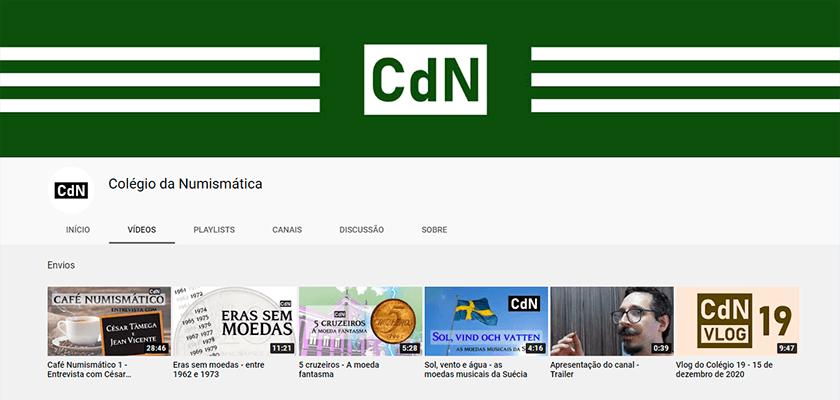 Canal Colécio da Numismática