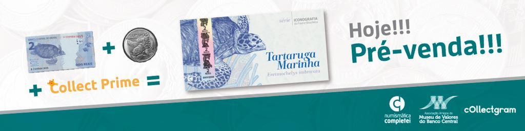 Folder Tartaruga Marinha 2 reais